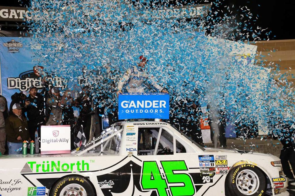 TruNorth Warranty First Win NASCAR