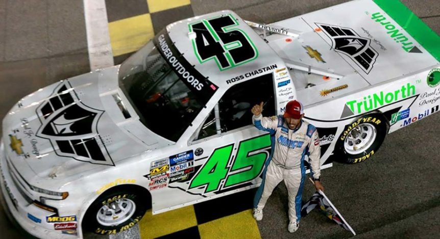 TruNorth Warranty NASCAR Win Roos Chastain