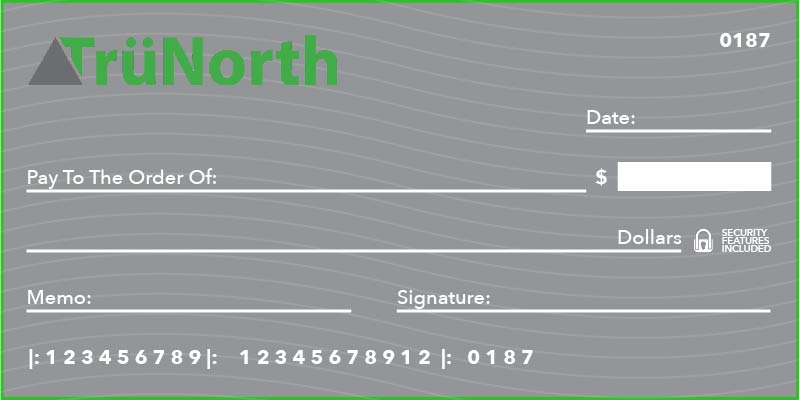 TruNorth Warranty Pay by Check